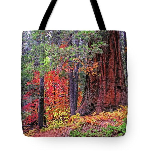 The Small And The Mighty Tote Bag by Lynn Bauer