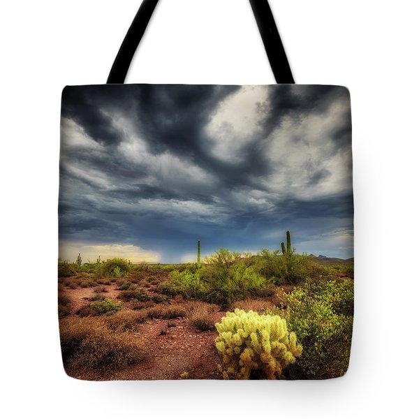 The Smell Of Rain Tote Bag