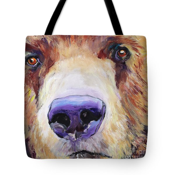 The Sniffer Tote Bag by Pat Saunders-White