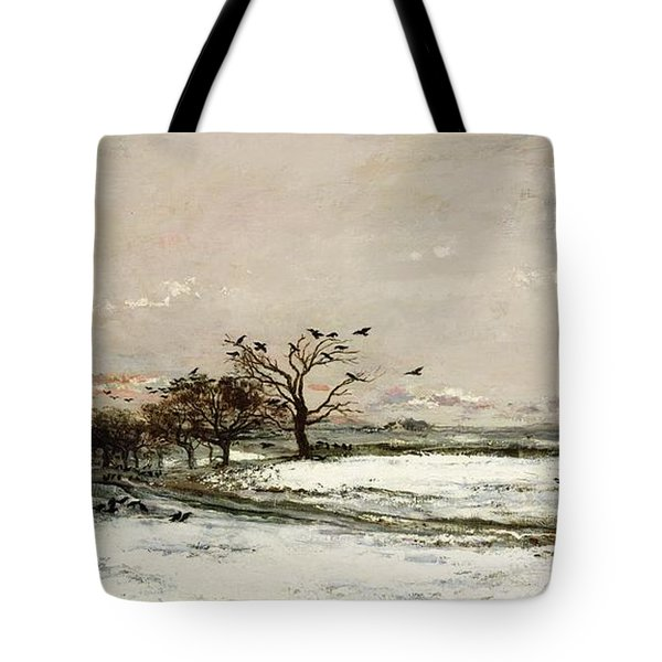 The Snow Tote Bag
