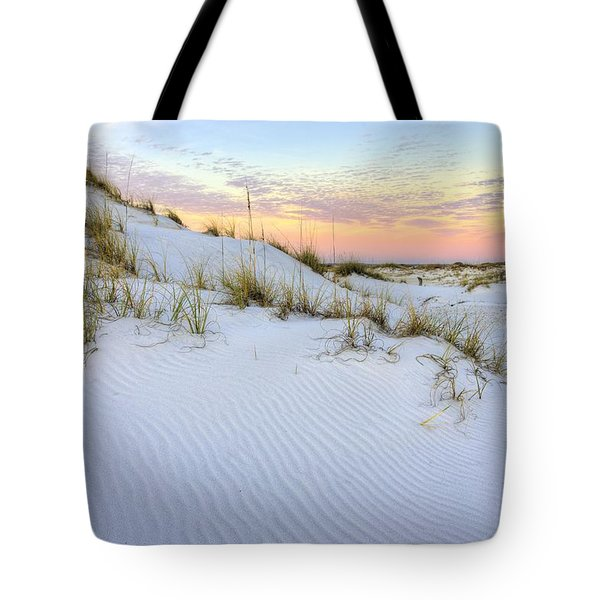 Tote Bag featuring the photograph The Snow White Dunes Of The Panhandle by JC Findley