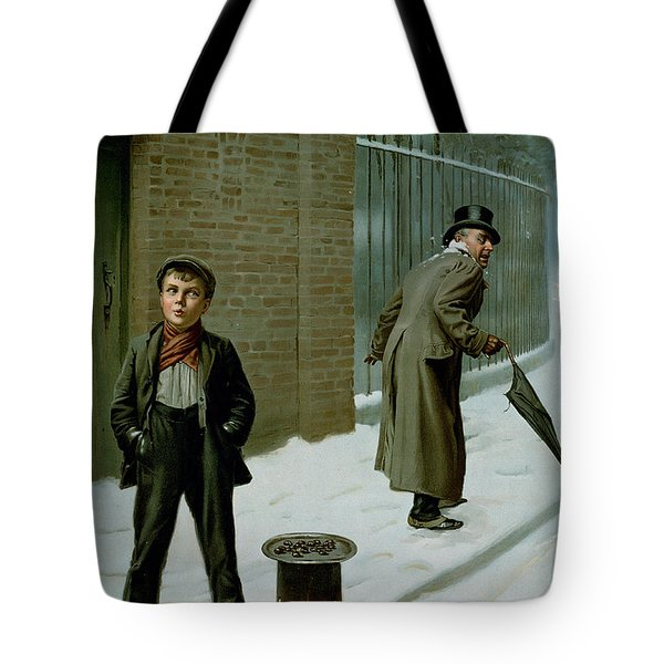 The Snowball Tote Bag by H Pittard