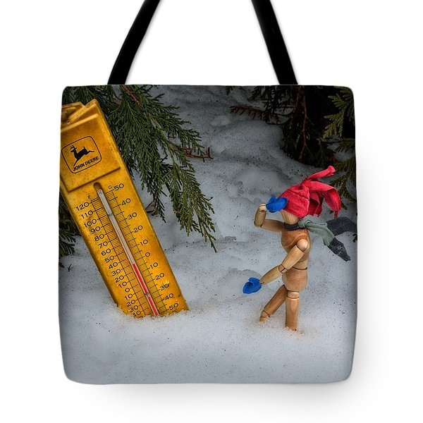 The Snowstorm Tote Bag