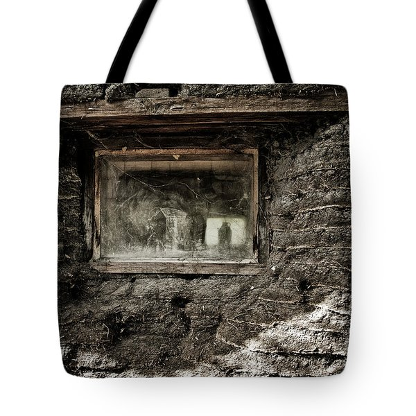 Tote Bag featuring the photograph The Sod House by Brad Allen Fine Art