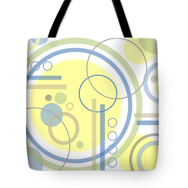 The Softness Of Circles Tote Bag