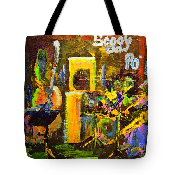 The Soggy Po Boys Tote Bag