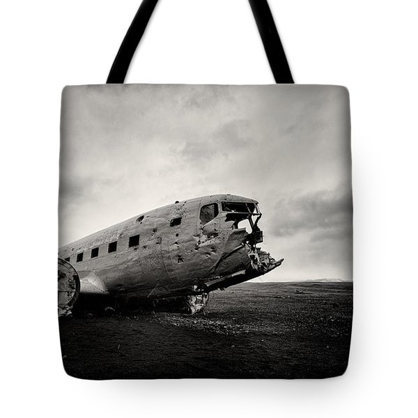 The Solheimsandur Plane Wreck Tote Bag