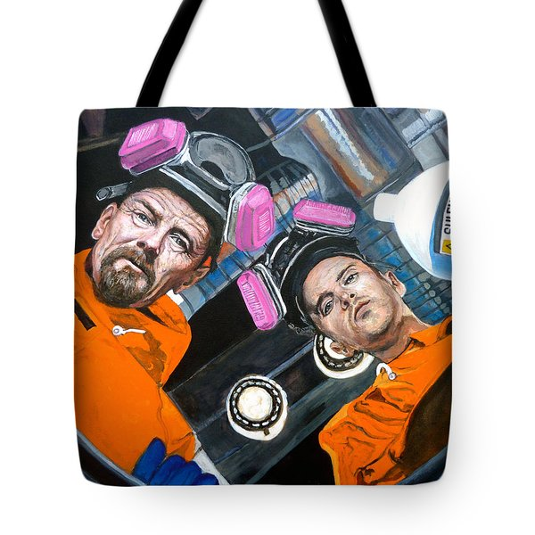 Tote Bag featuring the painting The Solution by Tom Roderick
