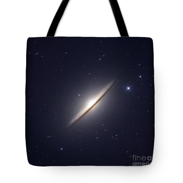 The Sombrero Galaxy Tote Bag by Robert Gendler