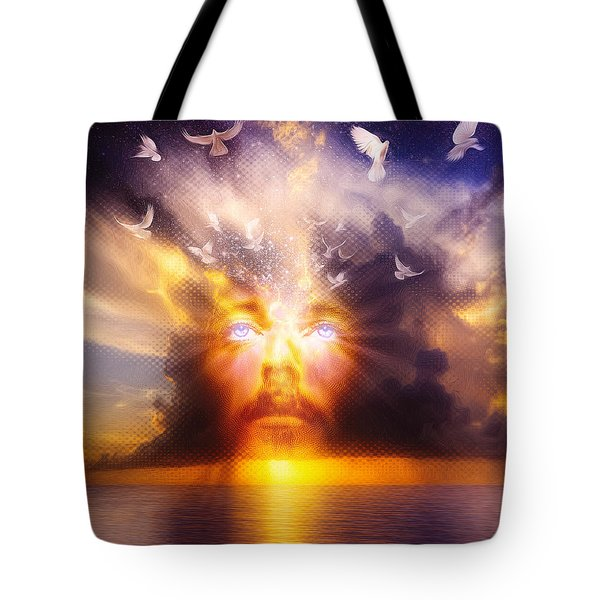 The Son Tote Bag by Robby Donaghey