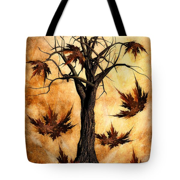 The Song Of Autumn Tote Bag