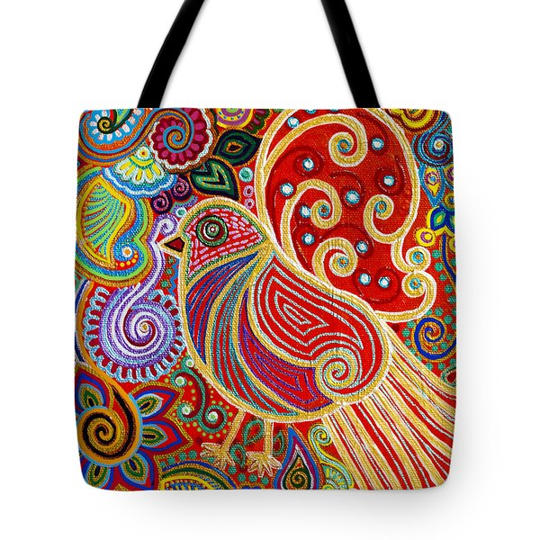 The Songstress In The Spring Tote Bag