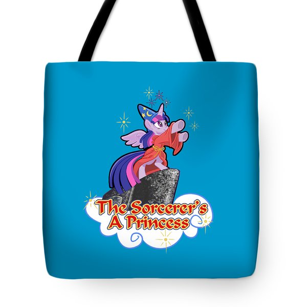 Tote Bag featuring the digital art The Sorcerer's A Princess by J L Meadows