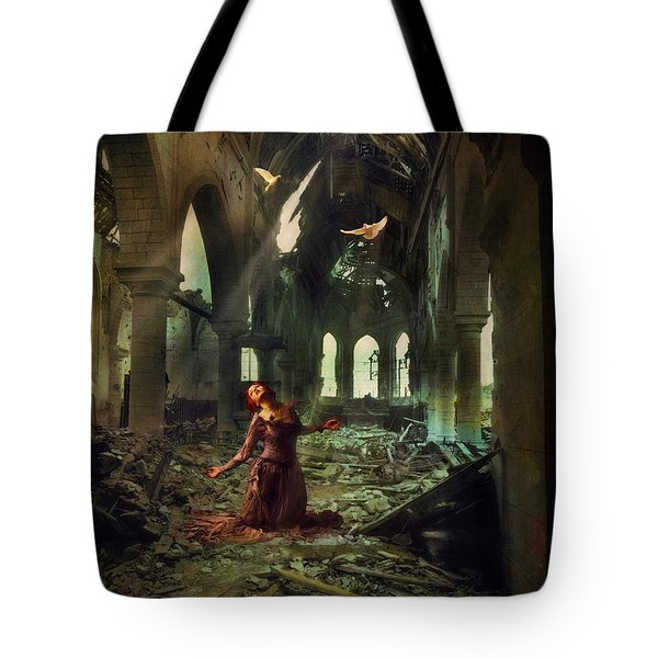 The Soul Cries Out Tote Bag by John Rivera