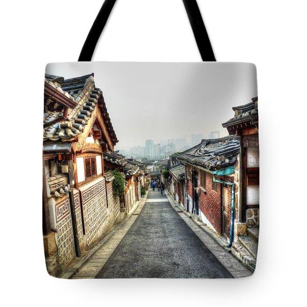 The Soul Of Seoul Tote Bag by Michael Garyet