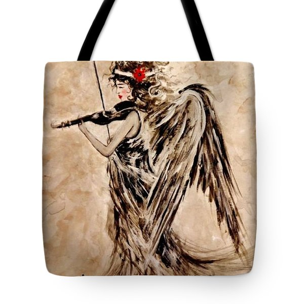 The Sound Of An Angel. Tote Bag
