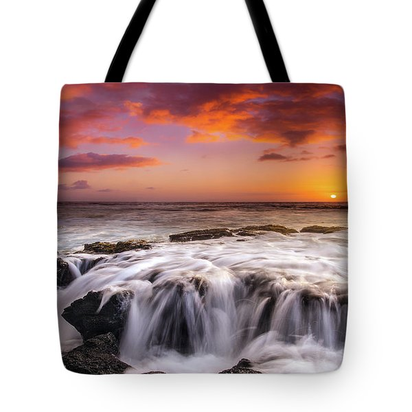 The Sound Of The Sea Tote Bag