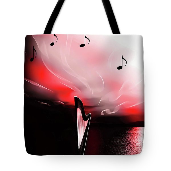 The Sounds Of Sunset Tote Bag