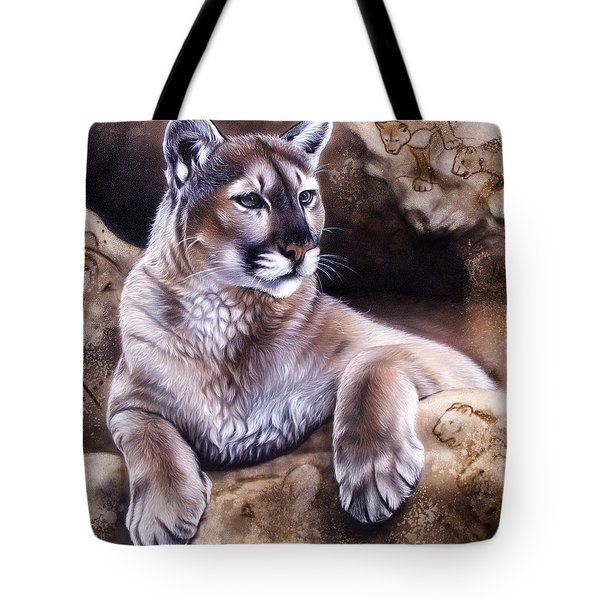 The Source Iv Tote Bag
