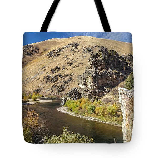 Tote Bag featuring the photograph The South Fork by Mark Mille