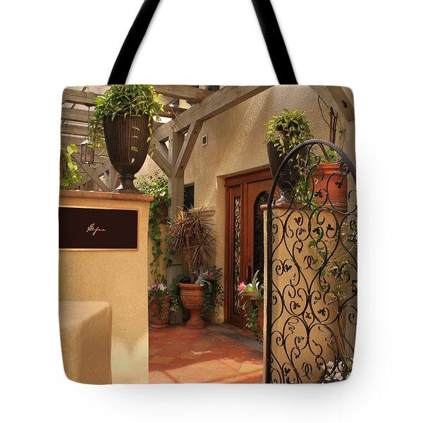 The Spa Tote Bag