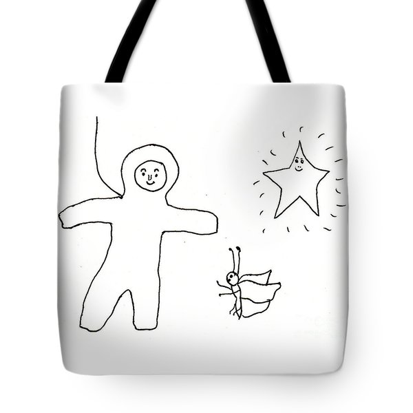 The Spaceman Tote Bag