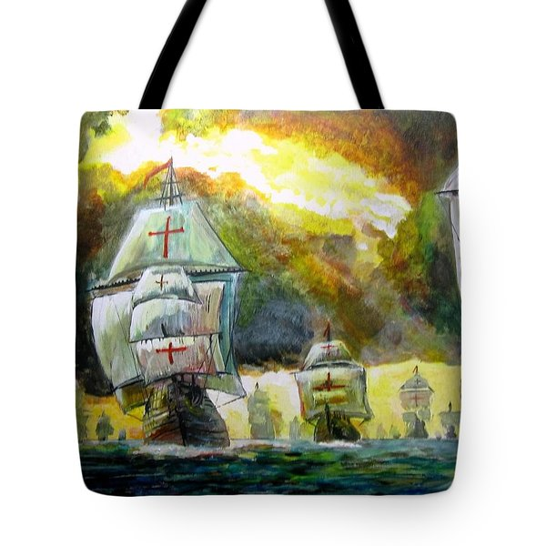 The Spanish Armada Tote Bag