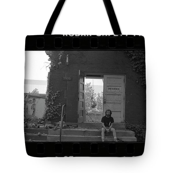 The Speech Annex And Peter Steven, Full Frame, 1980 Tote Bag