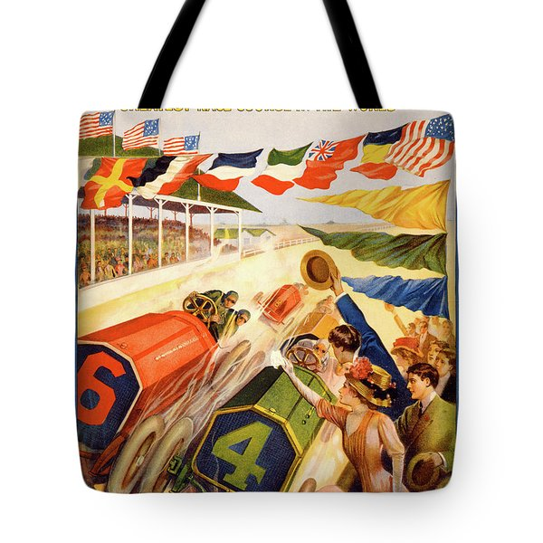The Speedway Tote Bag by Gary Grayson