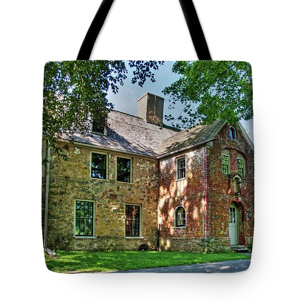 The Spencer-peirce-little House In Spring Tote Bag