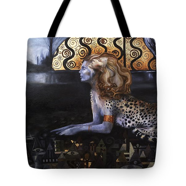 The Sphinx Tote Bag by Ragen Mendenhall