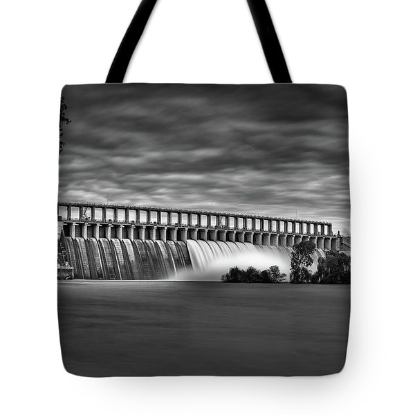 The Spill Tote Bag by Mark Lucey