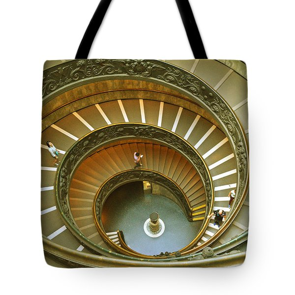 The Spiral Staircase Tote Bag
