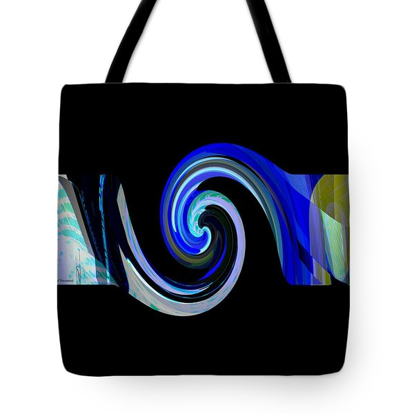 The Spiral Tote Bag by Thibault Toussaint
