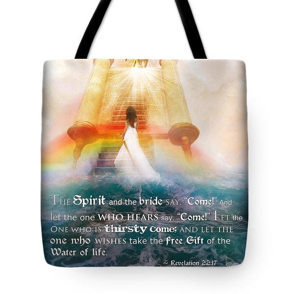 The Spirit And The Bride Tote Bag