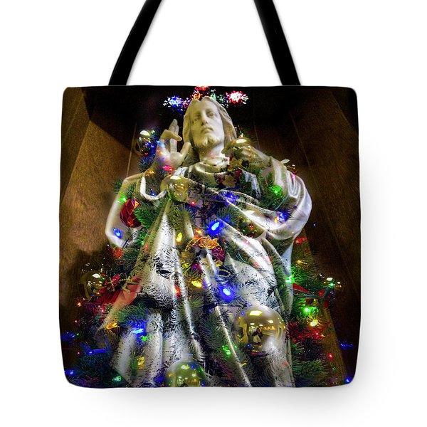 The Spirit Of Christmas Tote Bag