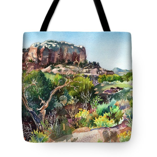 The Spirit Of Ghost Ranch Tote Bag