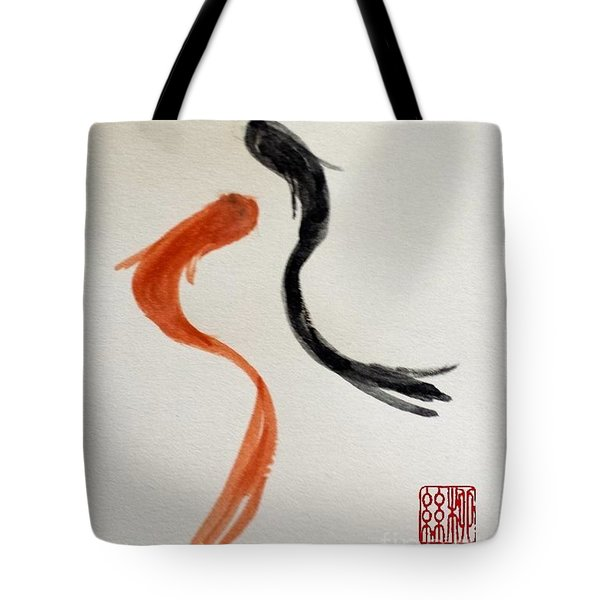 The Spirit Of Goldfish Tote Bag