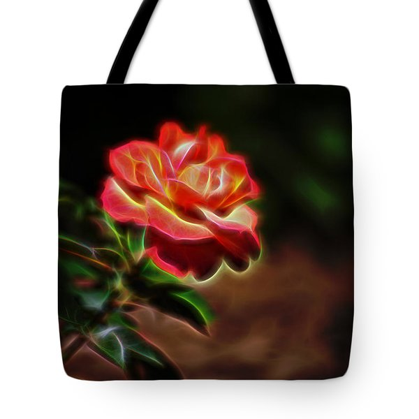 The Spirit Of The Rose Tote Bag