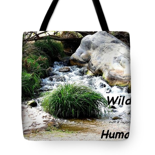 The Spirit Of Water Tote Bag by David Norman