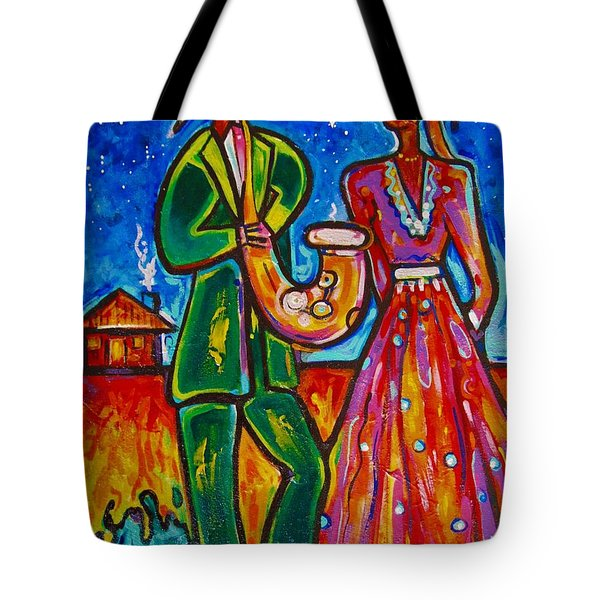 The Spirt Of Memphis Tote Bag by Emery Franklin