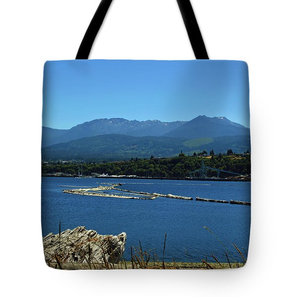 Tote Bag featuring the photograph The Spit by Tikvah's Hope