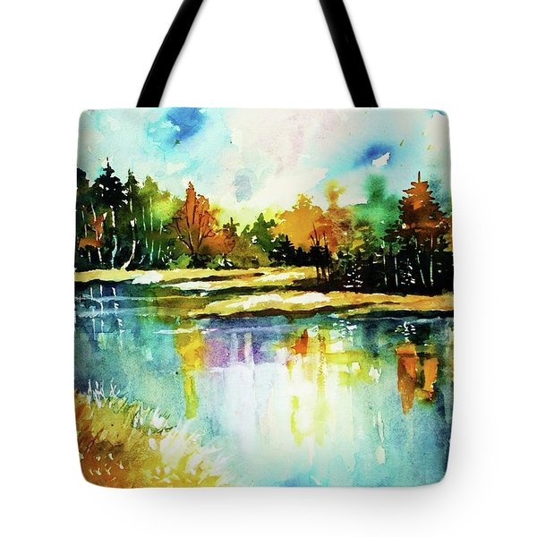The Splendor And  Color Of Autumn Tote Bag