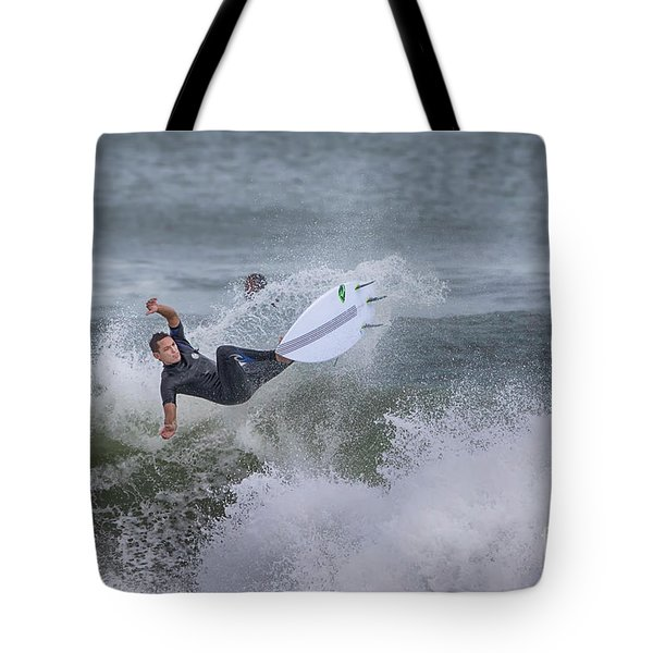 Tote Bag featuring the photograph The Spray by Deborah Benoit