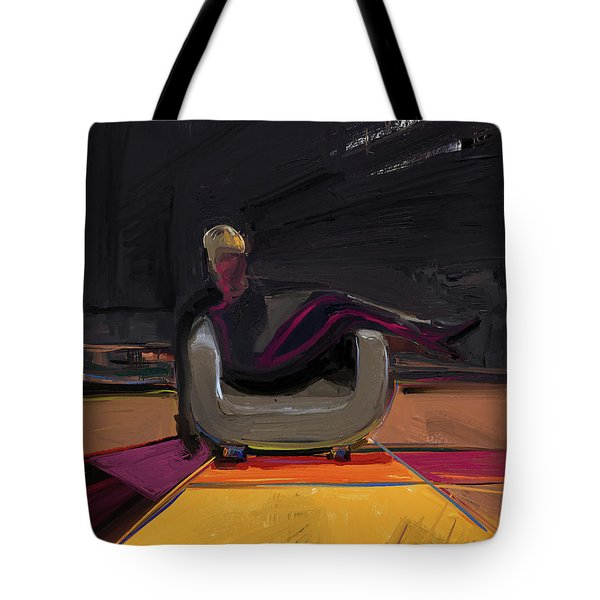 The Spy Tote Bag by Russell Pierce