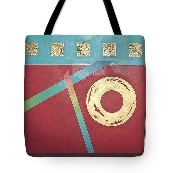 The Square Wheels Of Progress Tote Bag by Bernard Goodman