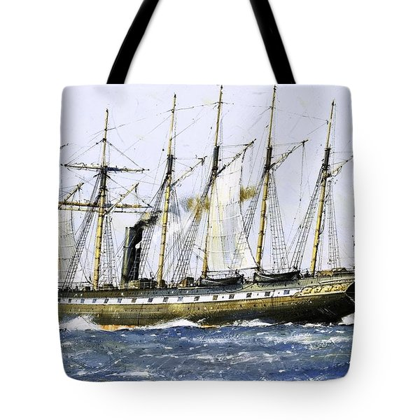 The Ss Great Britain Tote Bag