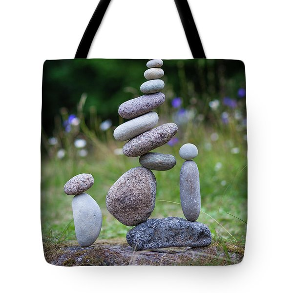 The Stackers Tote Bag