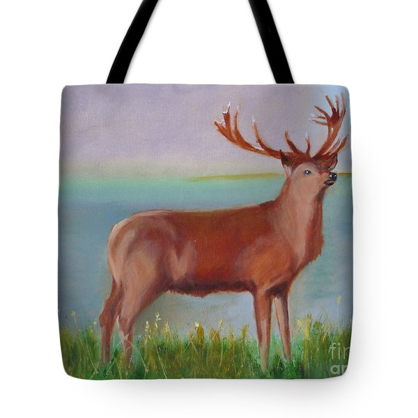 The Stag Tote Bag by Rod Jellison