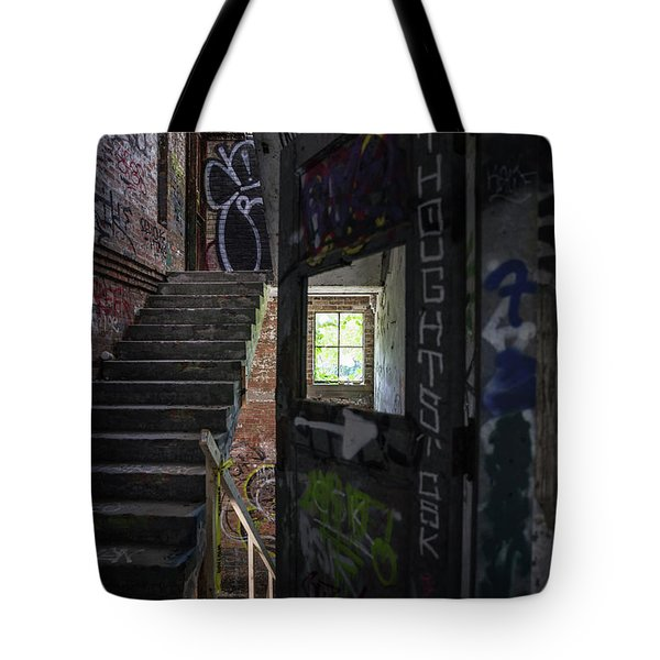 The Stairs Beyond The Door Tote Bag
